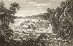 A View of the Great Cohoes Falls, on the Mohawk River